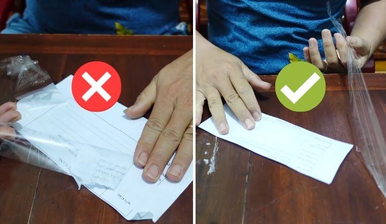 Mẹo gỡ băng keo dính trên giấy nhanh mà không làm rách giấy