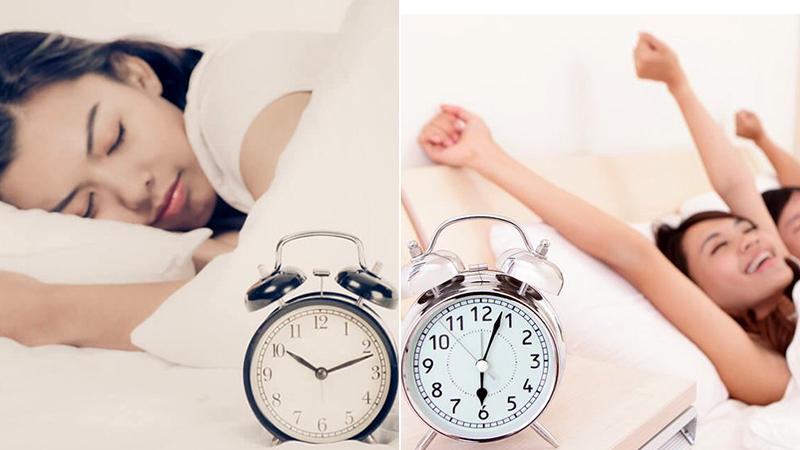 Thực hiện thói quen ngủ đều đặn