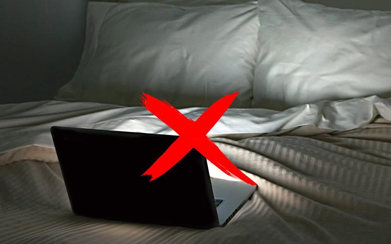 Loại bỏ thiết bị điện tử làm việc khỏi phòng ngủ
