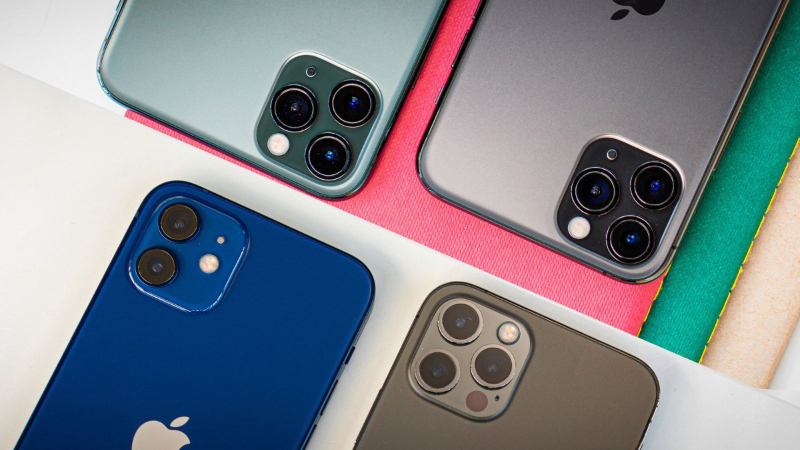 iPhone bán chạy nhất 2021
