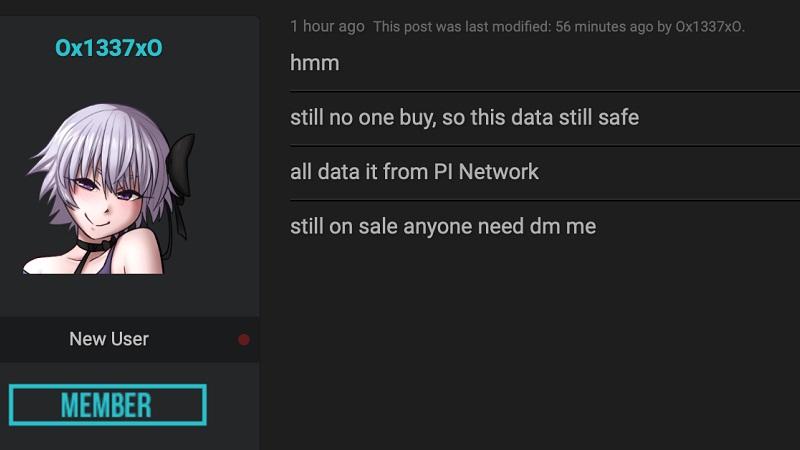 Pi Network đứng đằng sau phi vụ rao bán 17 GB dữ liệu CMND người Việt?