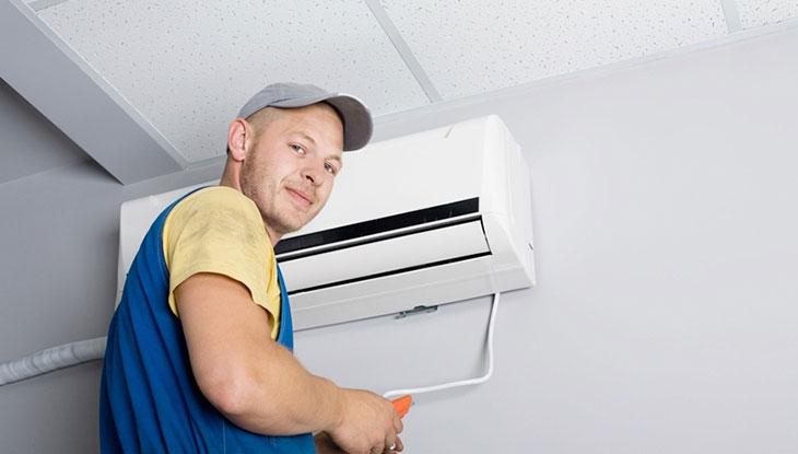 Lắp đặt máy lạnh ở vị trí có nhiệt độ cao