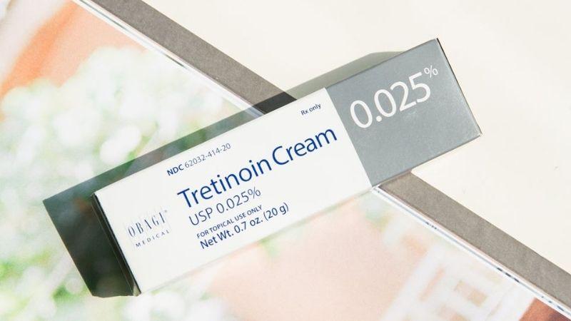 Tretinoin nồng độ 0.025%