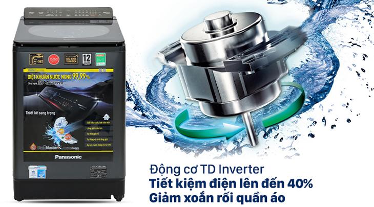 Tiết kiệm điện, nước với công nghệ TD Inverter và cảm biến Econavi