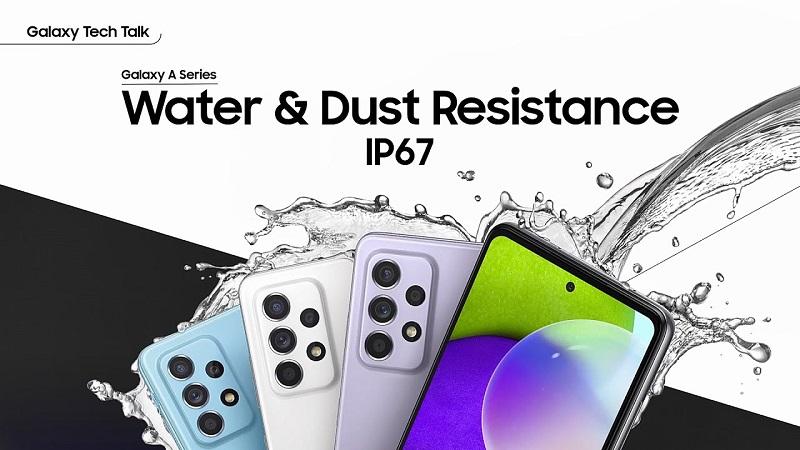 Galaxy A52 chống nước