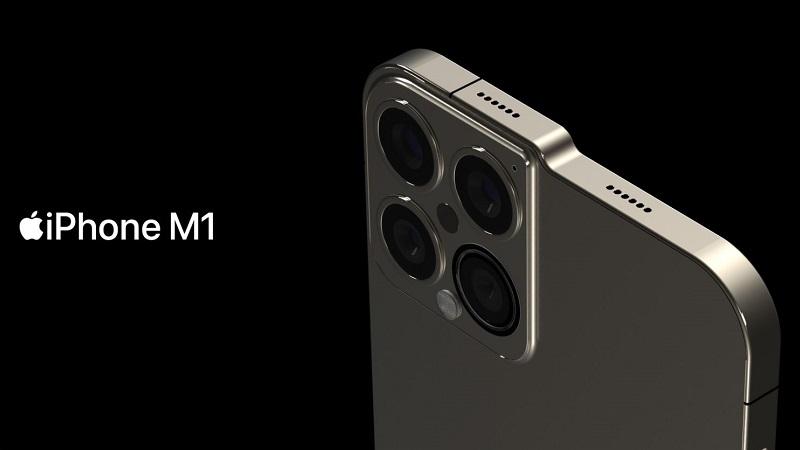 iPhone M1 xuất hiện khá 'dị' trong bản concept mới: Khai tử phần notch