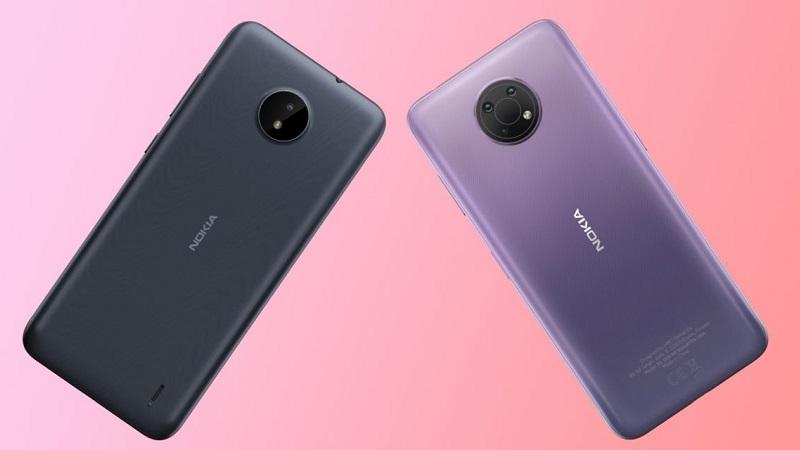 Nokia C20 Plus và Nokia C30 lộ thiết kế mặt sau cùng dung lượng pin khủng không thua kém dòng Galaxy M của Samsung