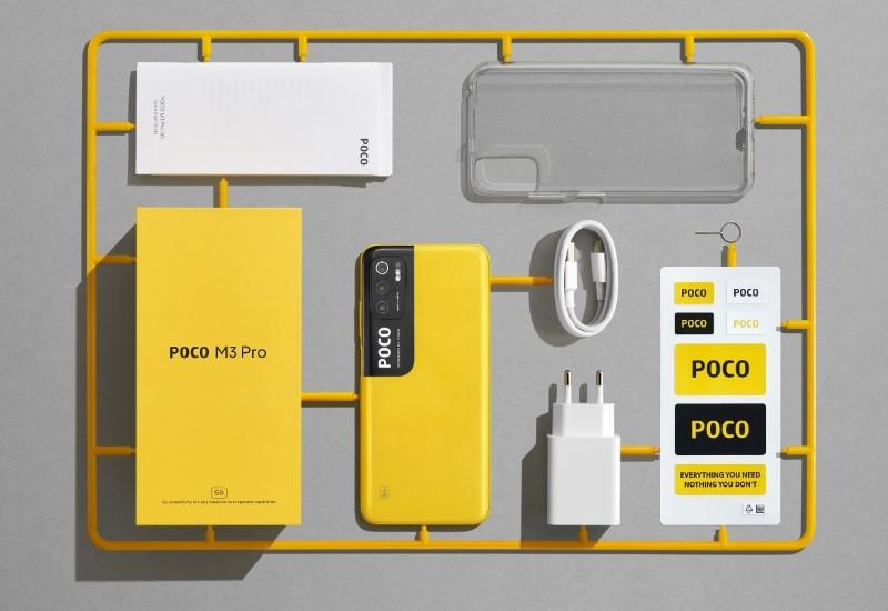 POCO M3 Pro 5G đã chính thức ra mắt người dùng