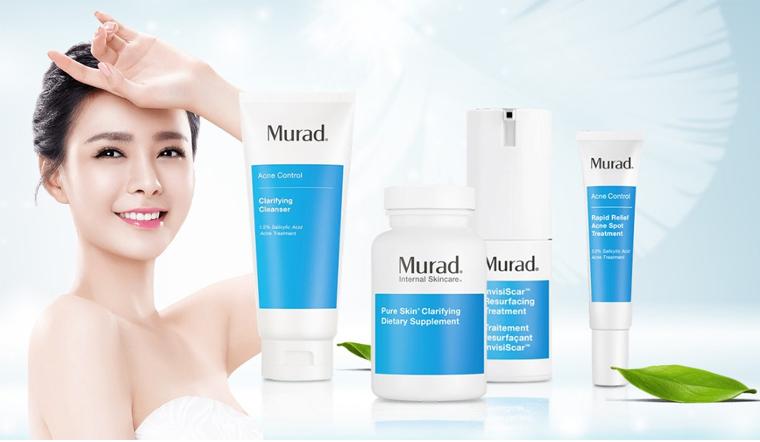 Chăm sóc da hiệu quả an toàn với bộ sản phẩm trị mụn Murad