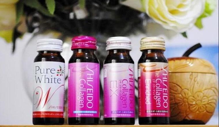 Collagen Shiseido dạng nước có bao nhiêu loại? Giá bao nhiêu?