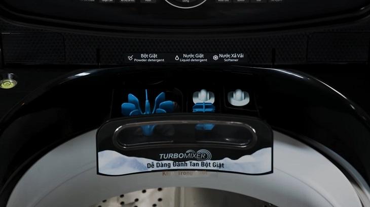 Ngăn chứa chất tẩy rửa TurboMixer