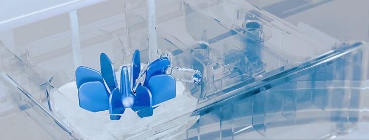 Cánh quạt hỗ trợ hòa tan bột giặt hiệu quả