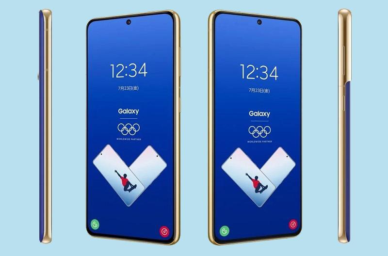 Chiêm ngưỡng vẻ đẹp của Galaxy S21 phiên bản Thế vận hội Tokyo 2021