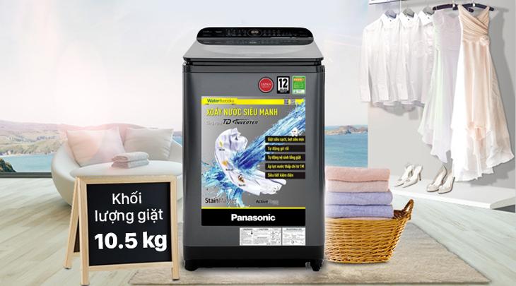 Panasonic NA-FD10AR1BV có khối lượng giặt 10.5 kg