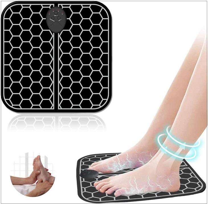 Thiết kế và kiểu dáng thảm massage chân phù hợp