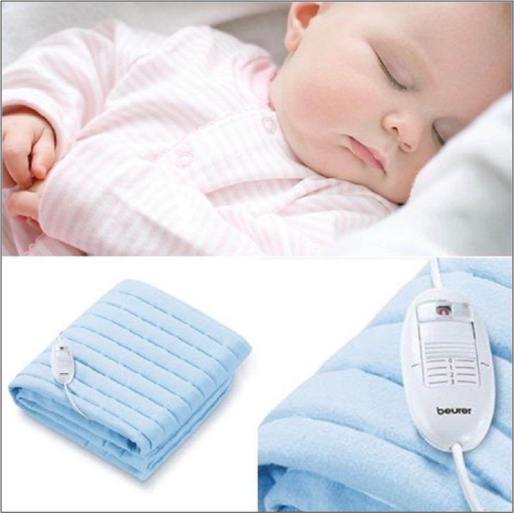 Lưu ý an toàn khi dùng chăn điện cho trẻ em