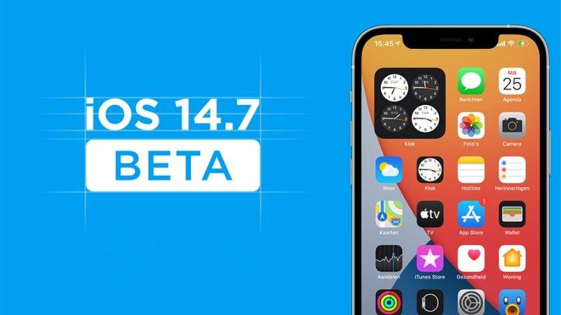 Apple tung bản thử nghiệm beta iOS 14.7 và iPadOS 14.7 cho nhà phát triển