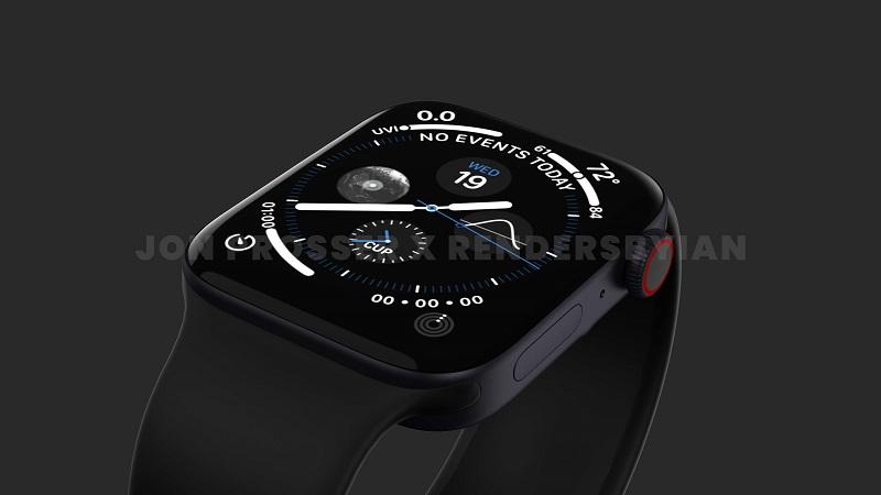 Ảnh minh họa Apple Watch Series 7