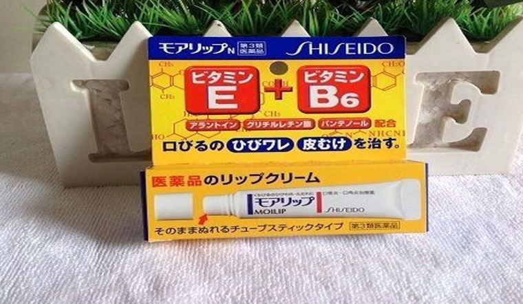 Tạm biệt đôi môi khô nứt nẻ với kem đặc trị khô môi Molip Shiseido