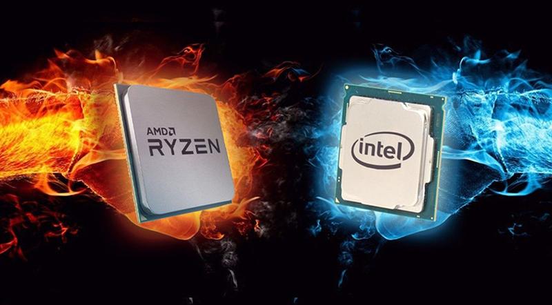 Chip Intel và Chip AMD là đại diện điển hình cho chip x86