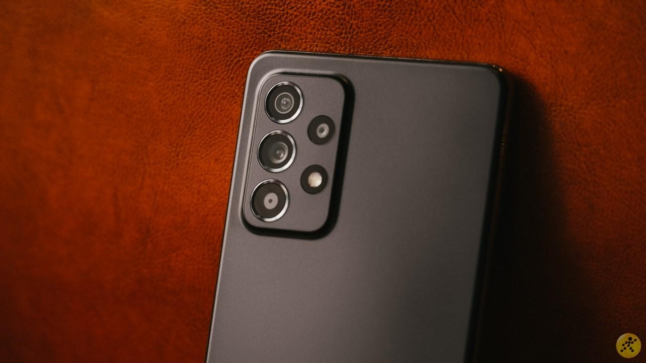 Thiết kế camera sau của Galaxy A52 4G