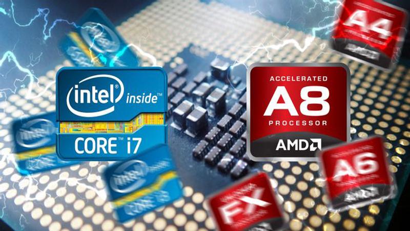 CPU Intel và CPU AMD đã được cho phép ép xung với một số dòng CPU