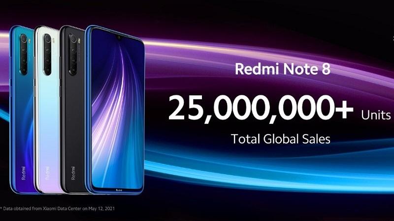 Redmi Note 8 'tái xuất' với phiên bản 2021: Nâng cấp chip, sạc 22.5W