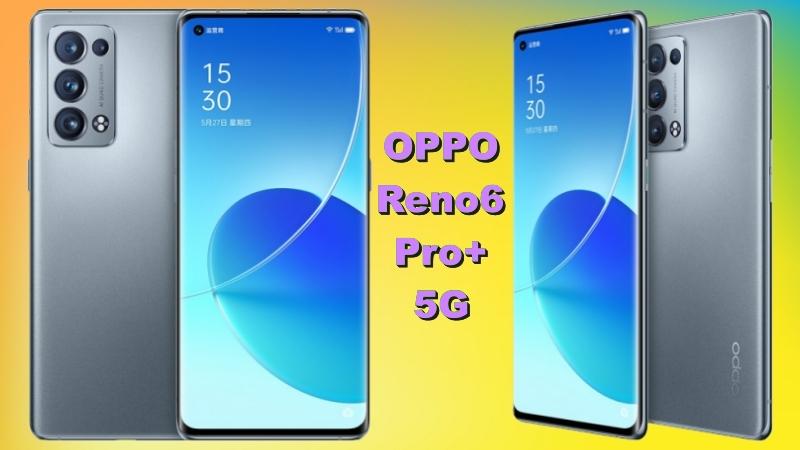 Ảnh render chính thức của OPPO Reno6 Pro+ 5G