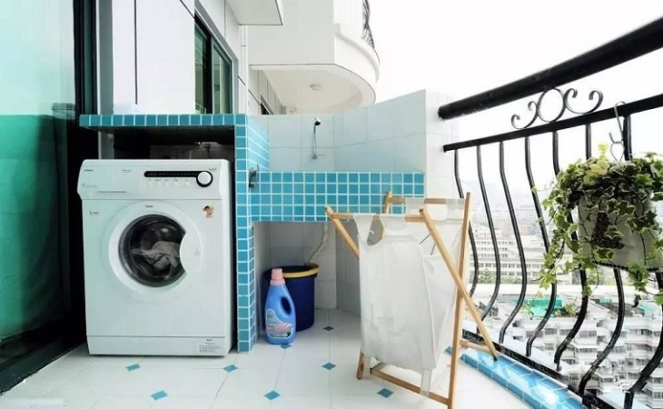 Chọn vị trí đặt máy giặt cân bằng