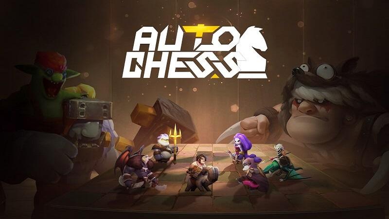 Giao diện trò chơi Auto Chess VNG