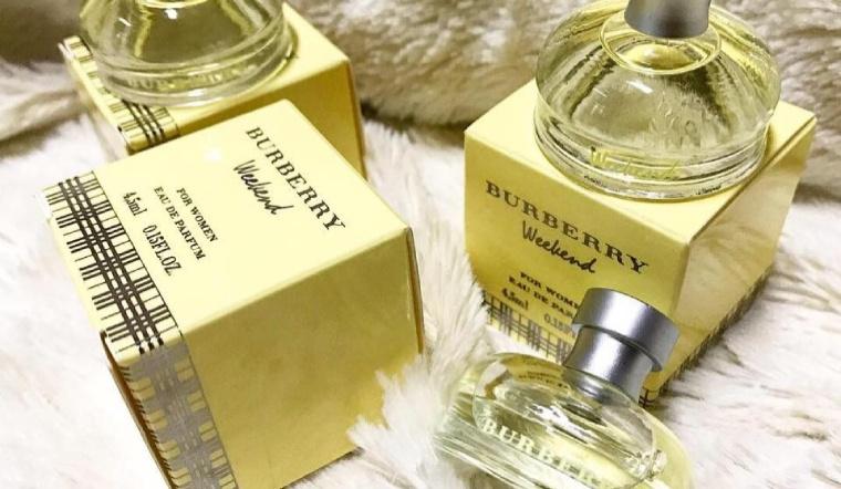 Review nước hoa Burberry Weekend hương hoa cỏ đầy quyến rũ tới từng nốt hương