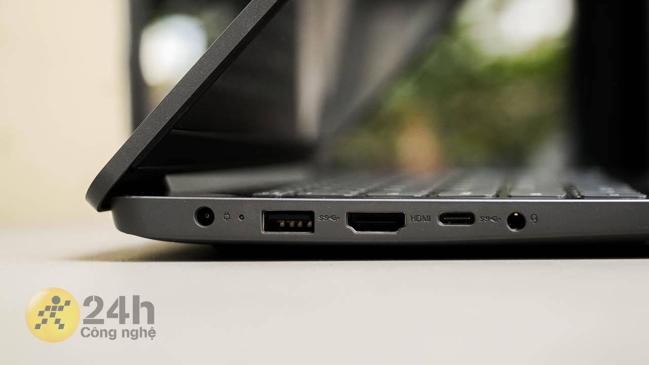 Cạnh trái của Lenovo IdeaPad 3