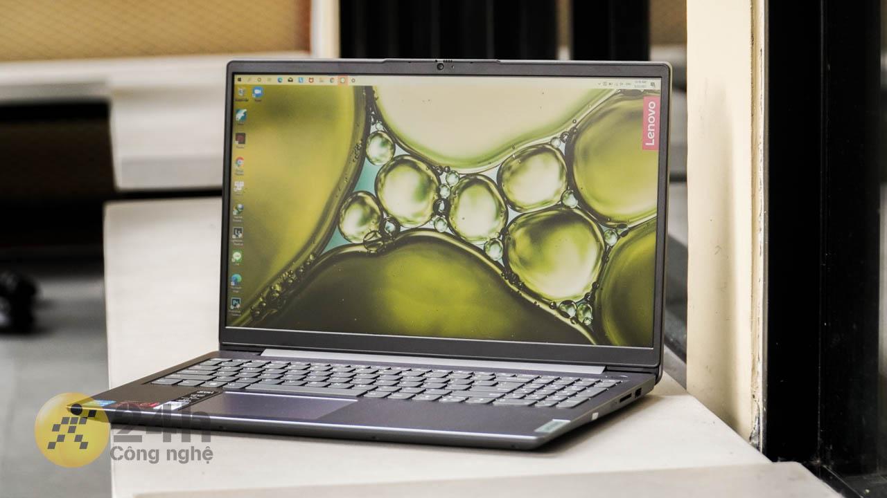 Màn hình của Lenovo IdeaPad 3 được tích hợp công nghệ chống chói Anti Glare