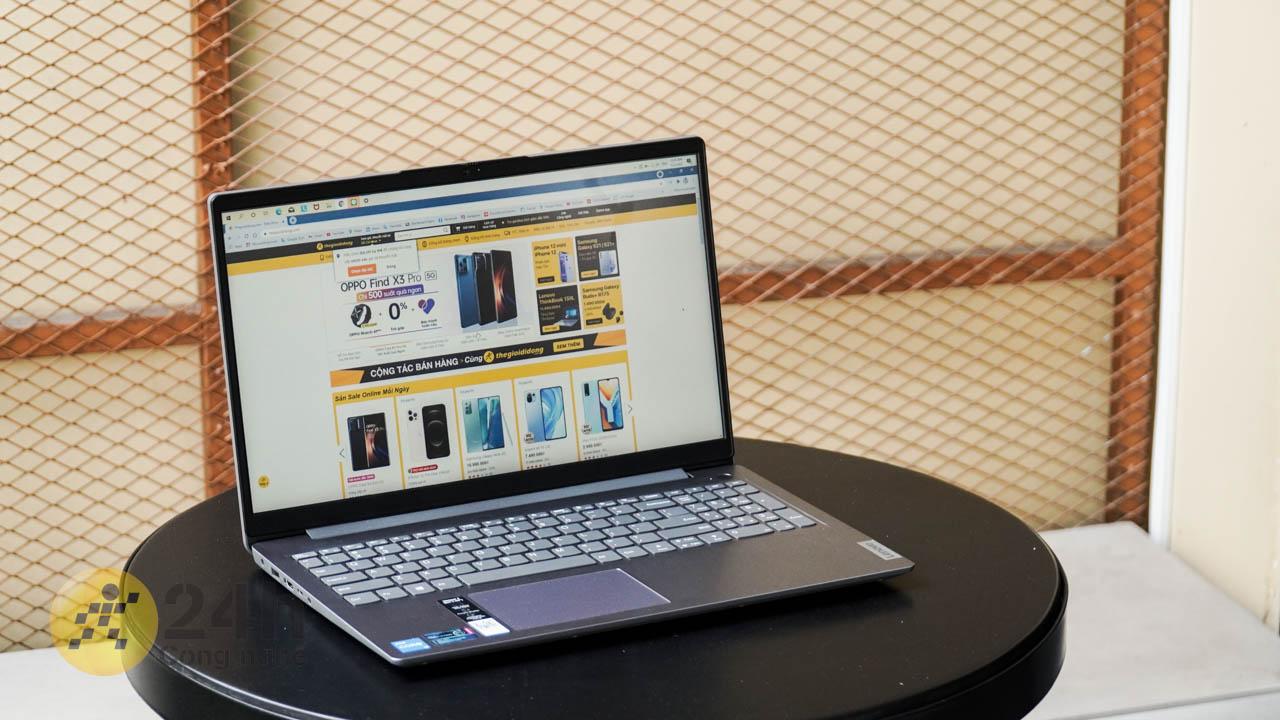 Lenovo IdeaPad 3 được tích hợp công nghệ chống chói Anti Glare