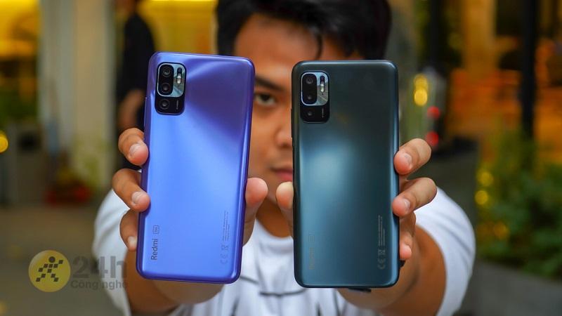 Redmi Note 10S và Redmi Note 10 5G