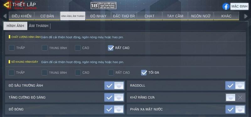 Note 20 Ultra 4G của mình hoàn toàn có thể chiến được Call of Duty Mobile với thiết lập đồ họa cao nhất.