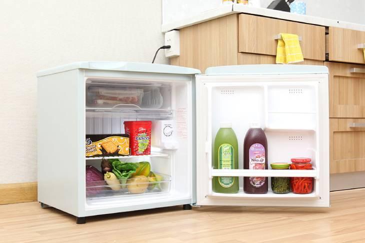 Tủ lạnh mini kêu to