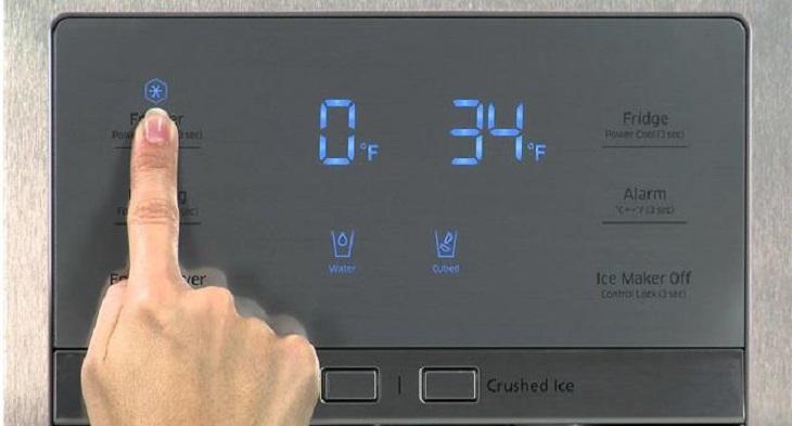 Điều chỉnh nhiệt độ thích hợp