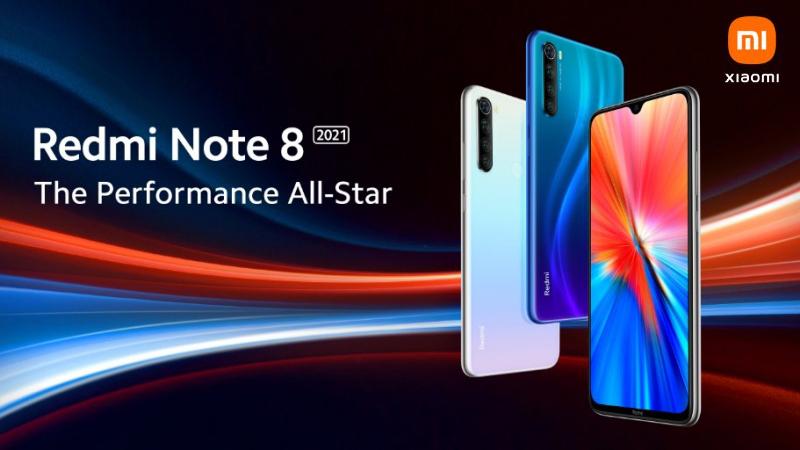 Xiaomi tiết lộ Redmi Note 8 2021 có thiết kế tương tự phiên bản tiền nhiệm