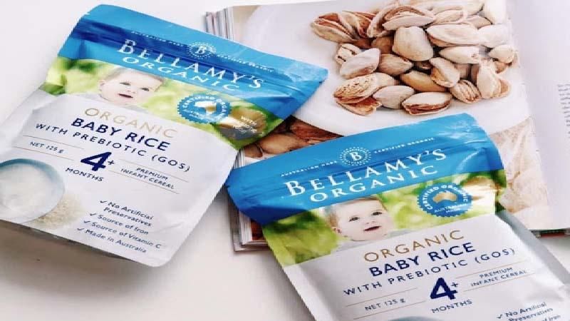 Bột ăn dặm Bellamy's Organic