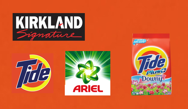 3 thương hiệu bột giặt Mỹ nổi tiếng tại Việt Nam