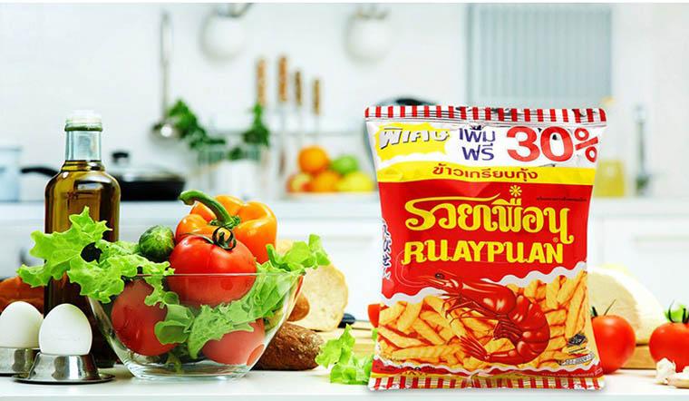 9 loại bánh snack Thái Lan từ bé đến lớn ai cũng mê