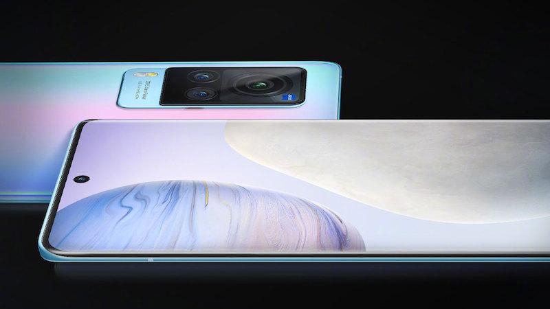 Vivo X60 phiên bản màn hình cong