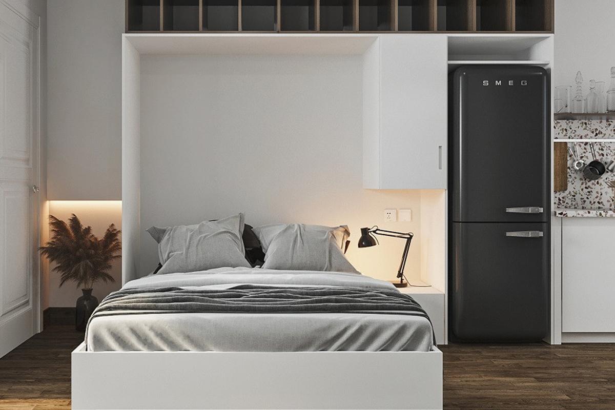 Đặt tủ lạnh trong phòng ngủ