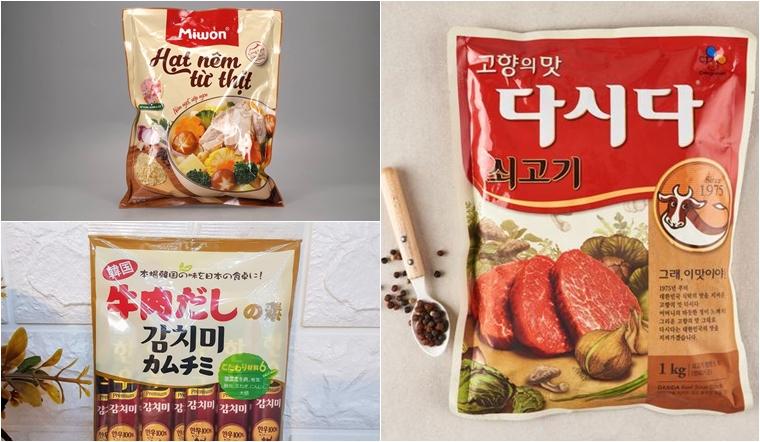 Hạt nêm Hàn Quốc có tốt không? Các loại hạt nêm Hàn Quốc được yêu thích