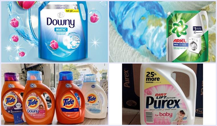 4 loại nước giặt Mỹ dễ sử dụng, giặt sạch và an toàn