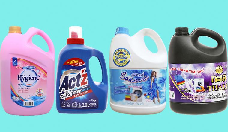 4 thương hiệu nước giặt xả Thái Lan giặt sạch, thơm lâu