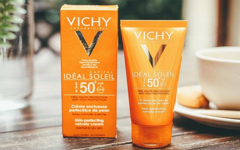 Kem chống nắng thương hiệu Vichy