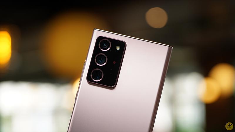 Camera Samsung Galaxy Note20 Ultra 4G cho chất lượng ảnh đáng khen.