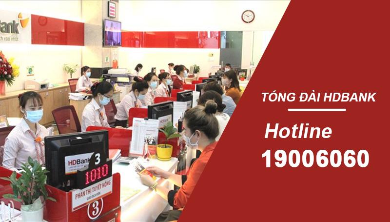 Số tổng đài - Hotline chính thức của HDBank